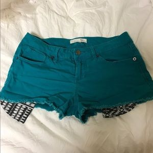 Forever 21 low rise shorts